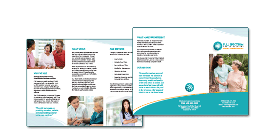 Full Spectrum Health Services Brochure