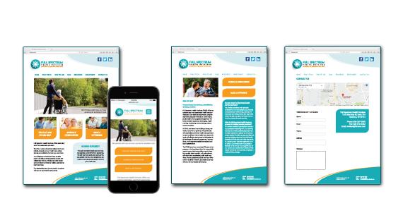 Full Spectrum Health Services Website